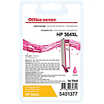 Cartouche jet d'encre Office Depot Compatible HP 364XL Magenta CN686EE