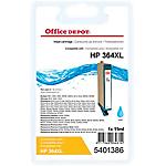 Cartouche jet d'encre Office Depot Compatible HP 364XL Cyan CN685EE