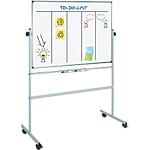 Tableau blanc mobile Office Depot Superior Émail Magnétique 120 x 150 cm