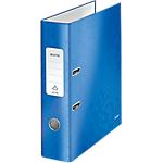 Classeur à levier Leitz WOW 80 mm Carton 2 Anneaux A4 Bleu