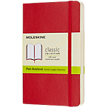 Carnet pages blanches Moleskine 9 x 14 cm