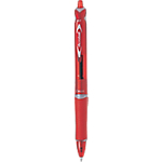 Stylo bille rétractable Pilot Acroball 0.3 mm Rouge