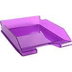 Corbeille à courrier Exacompta Combo 2 Classic Violet