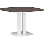 Table ronde Gautier Office Xenon 1 150 x 1 150 mm Imitation chêne royal