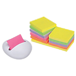 Notes repositionnables Post it Z notes 76 (H)  x  76 (l) mm Jaune   12 Unités de 100 Feuilles