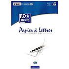 Bloc de papier à lettres OXFORD A4 75 g