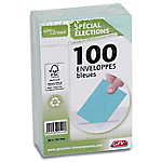 Enveloppes Élections recyclées GPV Bleu Sans Fenêtre   100 Unités