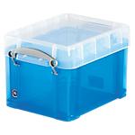 Boîte de rangement   3 litres   bleu