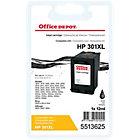 Cartouche jet d'encre Office Depot Compatible HP 301XL Noir CH563EE