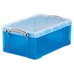 Boîte de rangement   9 litres   bleu