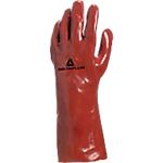 Gant Deltaplus PVC 100% Taille 10 Rouge