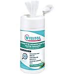 Lingettes nettoyantes désinfectantes Wyritol Blanc   120 Unités