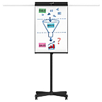 Chevalet de conférence mobile Piètement en métal Legamaster Universal 68 x 105 cm