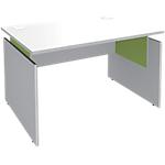 Bureau ajustable Adjust 1200 x 800 x 820 mm Blanc, vert
