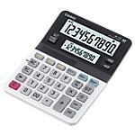 Calculatrice de bureau Casio MV 210 10 Chiffres Noir, blanc
