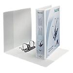 Classeur de présentation Leitz 65 mm 2 anneaux A4 Maxi Blanc