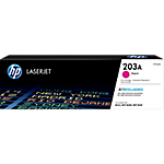 Toner HP D'origine 203A Magenta CF543A