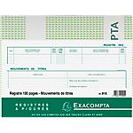 Registre des mouvements de titres Exacompta Exacompta 110 g