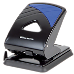 Perforateur 2 trous Office Depot Noir, bleu