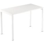 Bureau droit 4 pieds Paperflow EasyOffice Blanc 1140 x 600 x 750 mm