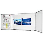 Tableau blanc triptyque Legamaster Economy 100 (H) x 30 (l) cm
