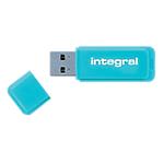 Clé USB   Integral   Neon   8 Go   Bleu