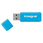 Clé USB Integral Néon 16 Go Bleu