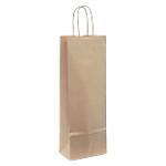 Sacs en papier Bottle 39 (H) x 8 (l) cm 80 g
