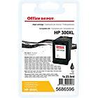 Cartouche jet d'encre Office Depot Compatible HP 300XL Noir CC641EE