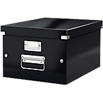 Boîte de rangement Leitz Click & Store Noir 37 x 281 x 369 mm