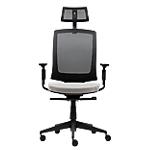 Siège de bureau ergonomique Mécanisme synchrone WorkPro Karl Ergoplus Noir, gris