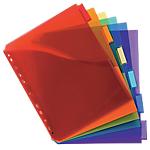 Intercalaires pochettes Exacompta 4834E A4+ 11 Perforations 20 Liasses