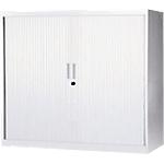 Armoire à rideaux AM1210R BLC 1200 x 1050 x 430 mm Blanc