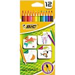 Crayons de couleur BIC Kids Assortiment   12 Unités