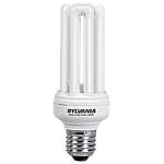 Ampoule fluocompacte Sylvania E27 20 W Blanc chaud