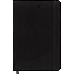 Carnet couverture souple ligné Foray Noir A4 Ligné Sans perforation 160 Pages   80 Feuilles