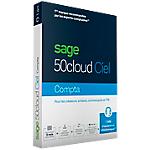 Logiciel de gestion Ciel Sage 50cloud Comptabilité (1 an)