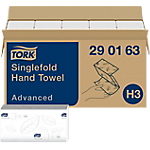15 paquets d'essuie mains   Tork   Advanced   250 feuilles   25 x 23 cm