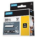 Ruban d'étiquettes industrielles DYMO Rhino 19 mm x 3,5 m Noir