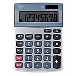 Calculatrice de bureau Office Depot AT 812T 8 Chiffres Gris argenté