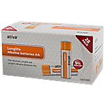 Piles alcalines Ativa Longlife AA 28 Unités