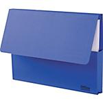 Chemises latérales Office Depot 285 GSM A4 Bleu 50 Unités