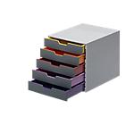 Module de classement DURABLE VARICOLOR A4+ 5 29,2 x 35,6 x 28 cm Gris