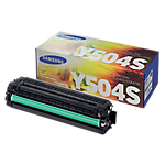 Toner CLT Y504S D'origine Samsung Jaune