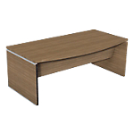 Bureau de direction Boston 2 000 x 1 010 x 730 mm Imitation noyer