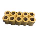 Recharges pour ruban note adhésive  ELAMI 100 mm Jaune 10 Unités