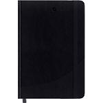 Carnet couverture rigide ligné Foray Noir A5 Ligné Sans perforation 160 Pages   80 Feuilles