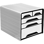 Tiroirs de bureau CEP Module 5 27 x 36 x 28 cm Blanc, noir