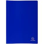 Protège documents soudé Exacompta Opaque 40 Pochettes Bleu