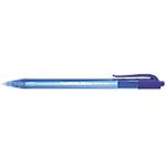 Stylo bille rétractable Paper Mate InkJoy 100 RT 0.7 mm Bleu   20 Unités